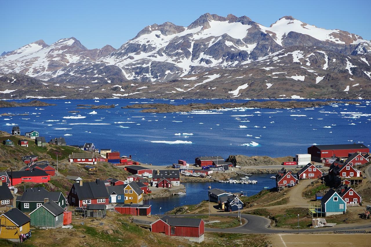 vandring i grønland