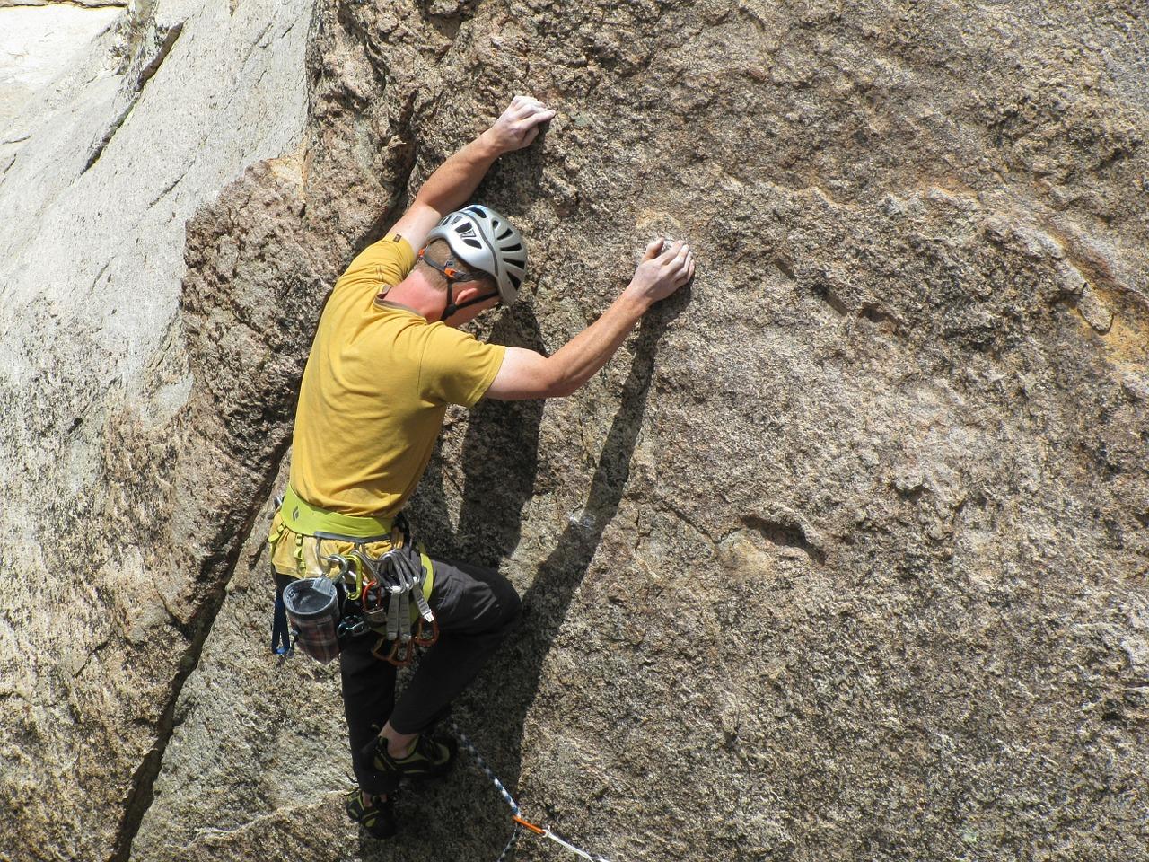 kalk til klatring