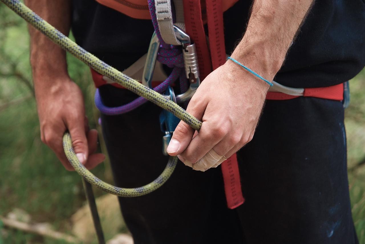 valg af klatresele