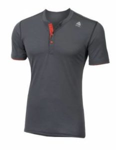 ACLIMA Lightwool Henley Shirt Iron Gate