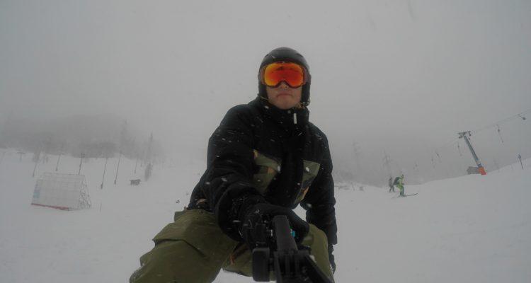 skijakke test