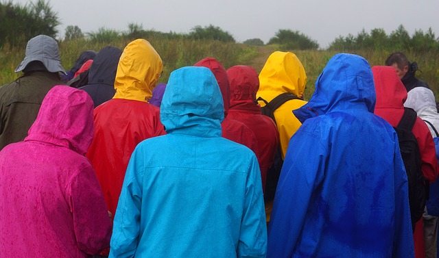 regntøj med fleece og foer