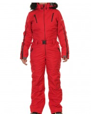 ski heldragt i rød