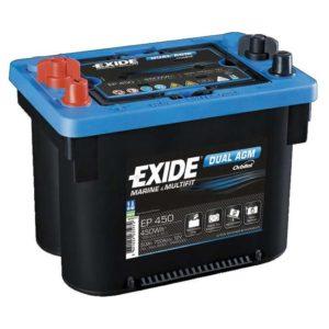 Exide Dual AGM – vedligeholdelsesfrie batterier